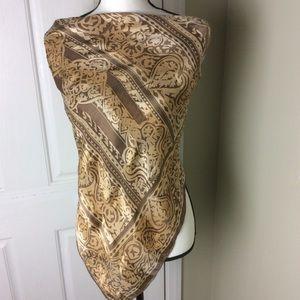 Ellen Tracy silk scarf